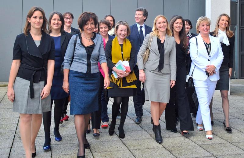Déjeuner organisé à Bercy par le Ministre du Redressement productif