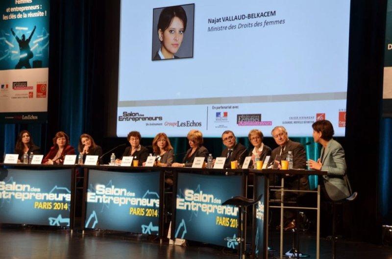 Conférence «Femmes & entrepreneurs : les clés de la réussite»