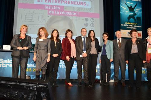Le salon des entrepreneurs en r sum najat vallaud for Salon des entrepreneurs